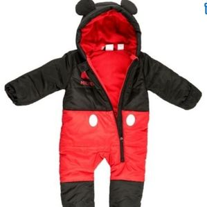 Disney Mickey Mouse Baby Snow Suit